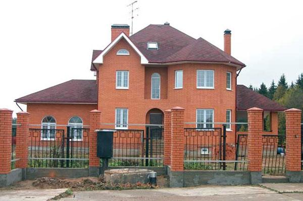 дом из кирпича фото двухэтажный