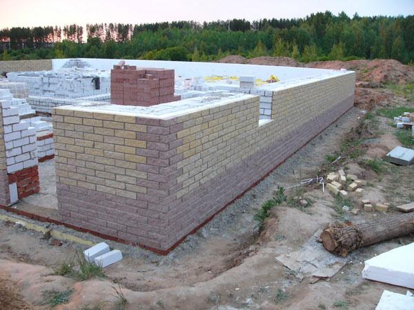 дом из силикатного кирпича стоимость работ